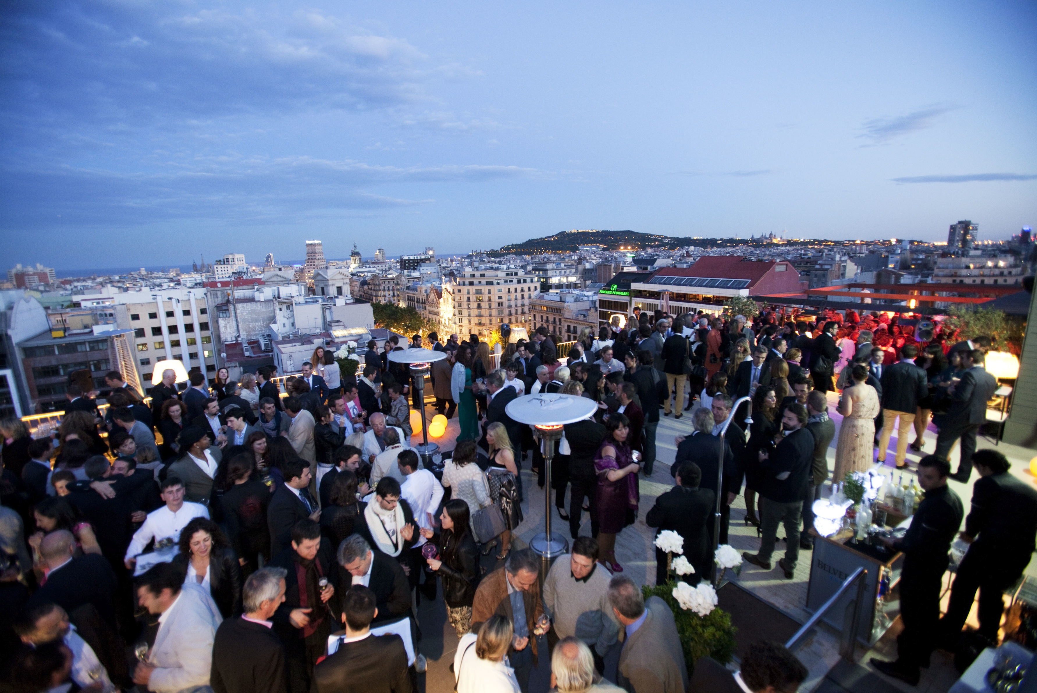Majestic Hotel rooftop
