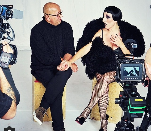 Backstage photo session with Rossy de Palma and Ruven Afanador @Barcelona 080