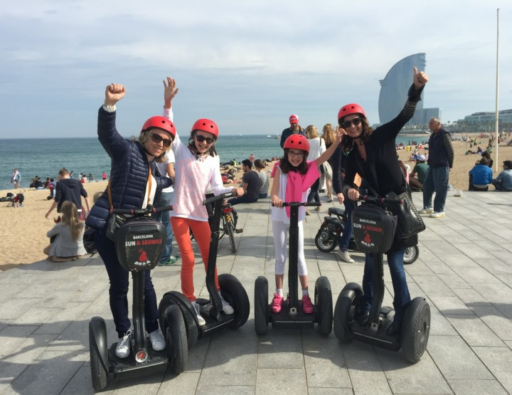 Segway the in way to visit Barcelona