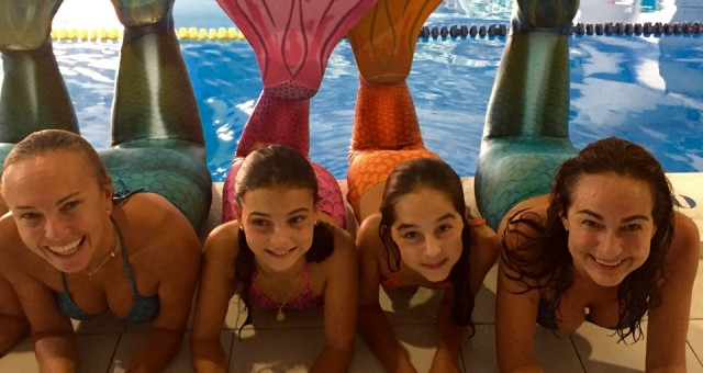 Learn how to swim like a mermaid at Sirenas Mediterranean Academy
