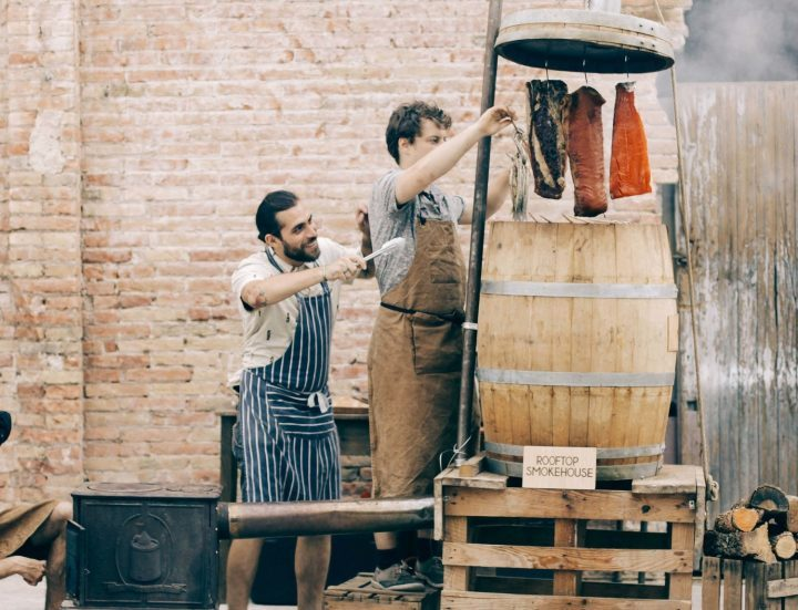 Something is cooking at Rooftop Smokehouse Barcelona