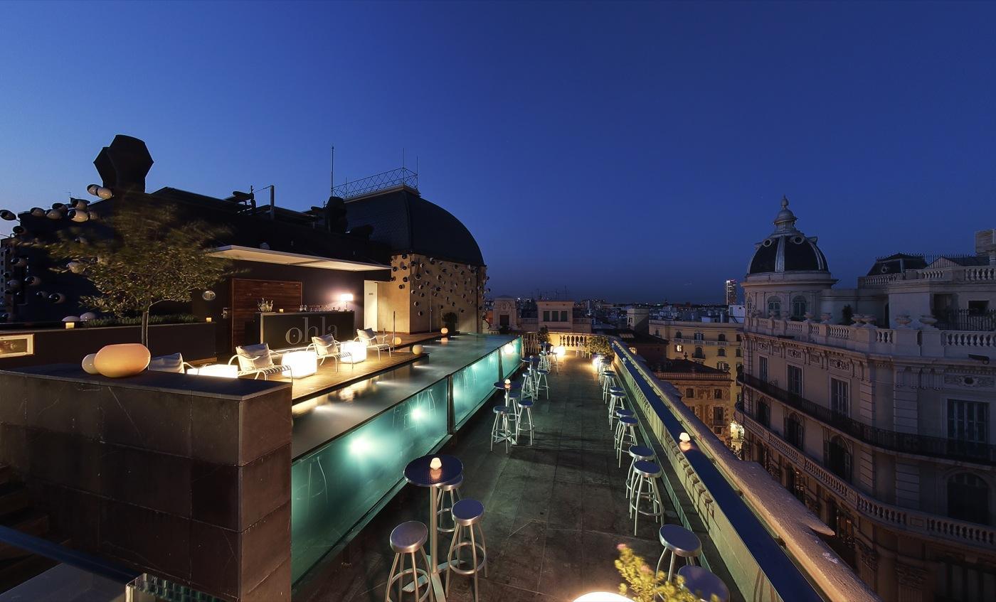 Ohla Hotel Barcelona rooftop