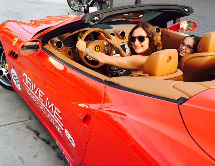 Taste the Ferrari experience at DriveMe Barcelona for les than 100 euros