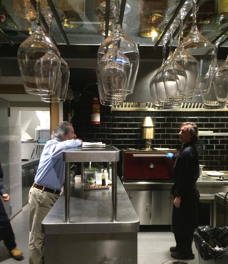 Barcelona Fashion Blog Experience The New Dop Restaurant In Via  # Muebles Duk Oiartzun