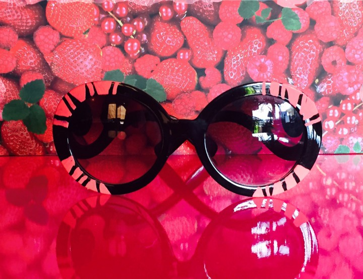 Get artsy!  Reinterpret your sunglasses in any summer theme