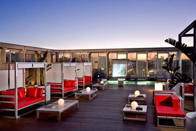 hotel axel rooftop barcelona