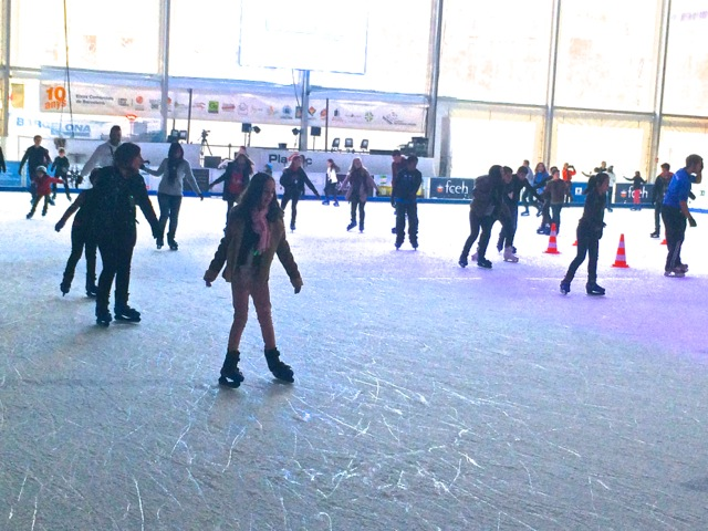 I skate, you skate we all skate in Hospitalet