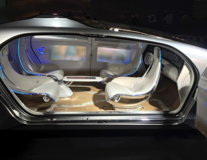 The car of my dreams, the Mercedes Benz F015