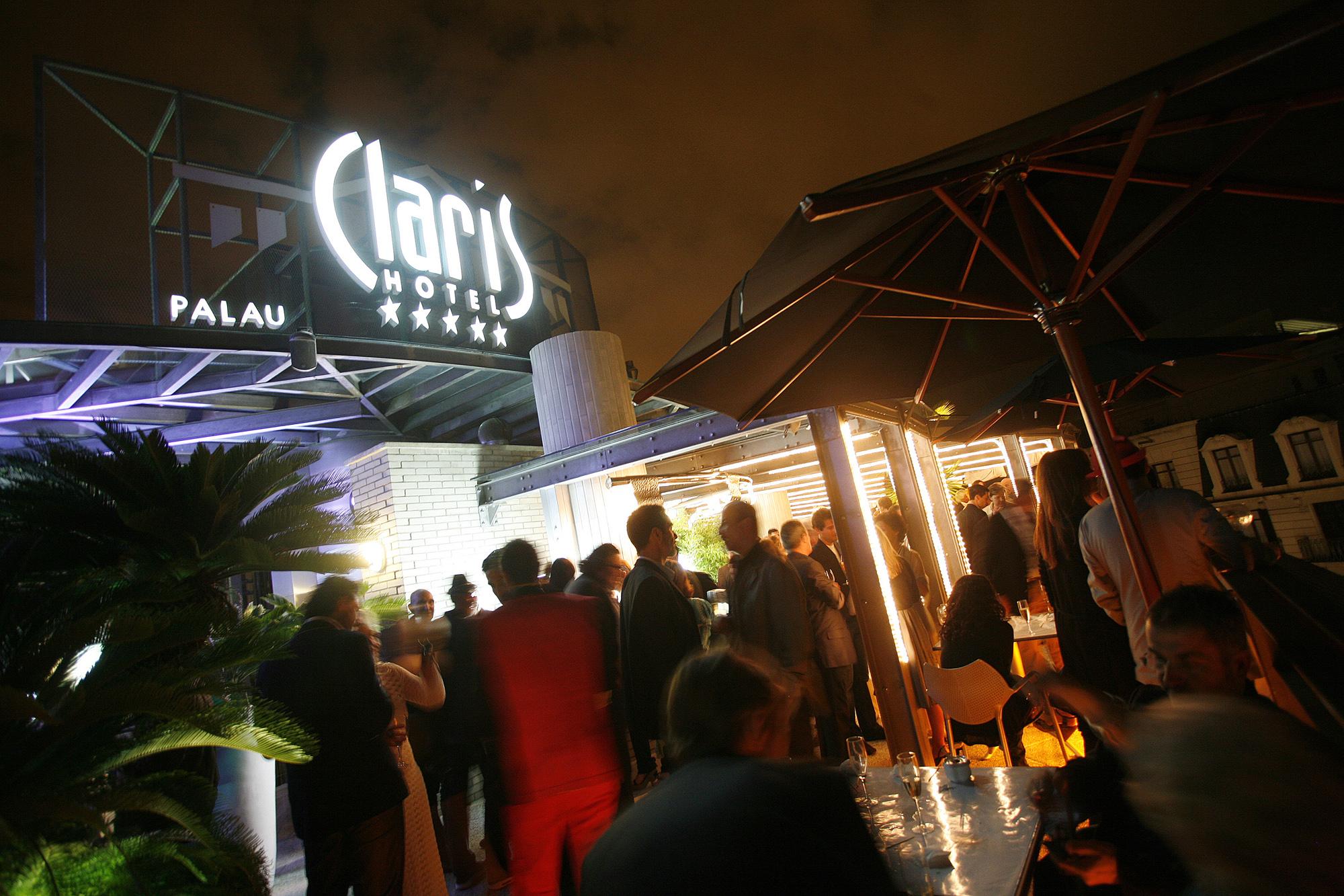 terrace Claris Hotel